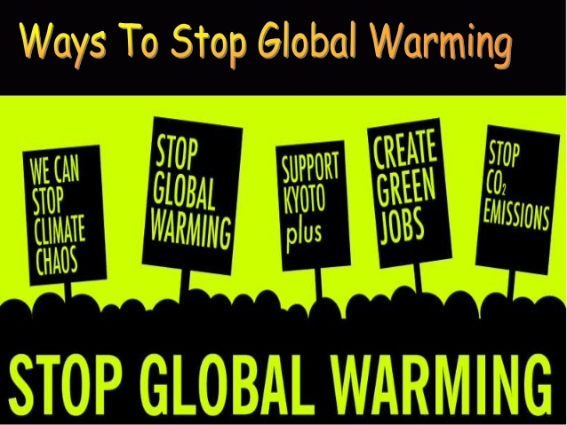 Top 40 điều nên làm để ngăn trái đất nóng lên